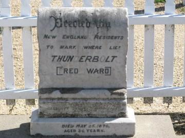 17 - Thunderbolt's Headstone