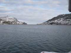 163- The 'Narrows' - the entrance to Newfoundland Harbour