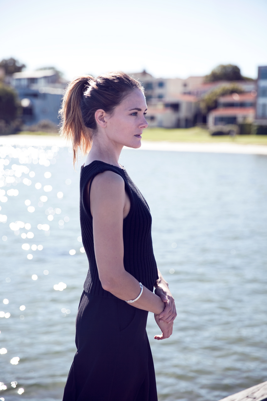 Morrison Knit Matteo vest worn by Jenelle Witty of Perth Fashion blog Inspiring Wit