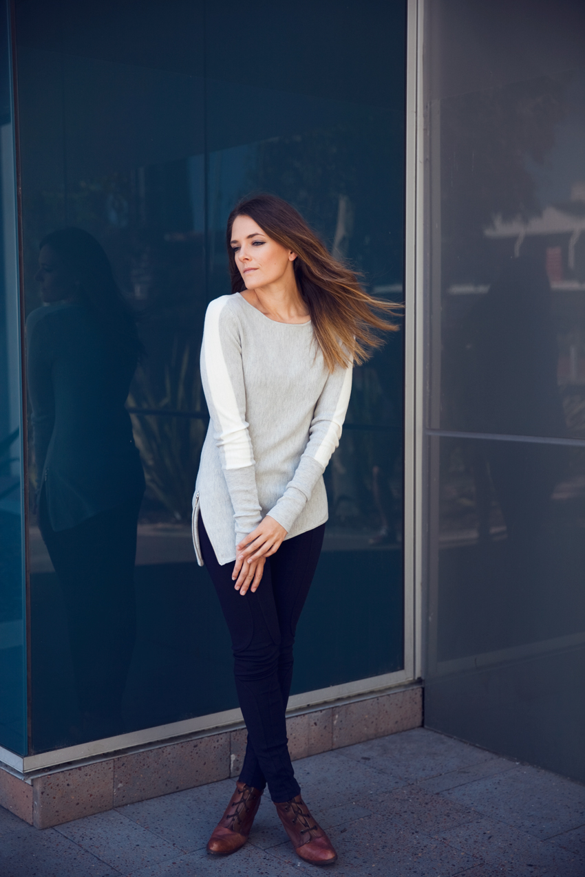Oncewas winter 2015 knit jumper as worn by Jenelle Witty of Perth fashion blog Inspiring Wit