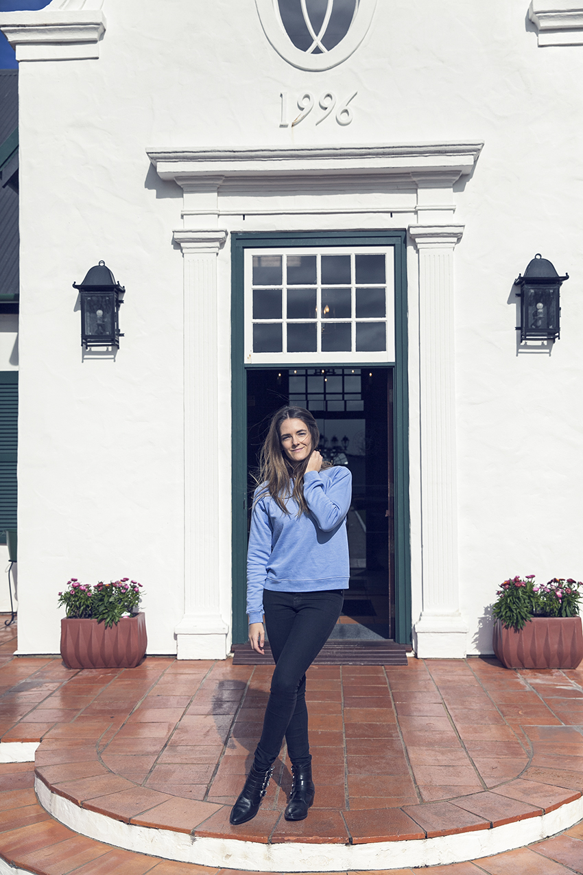 Voyager Winery Margaret River Perth fashion blogger Inspiring Wit in Sincerely Jules sweater