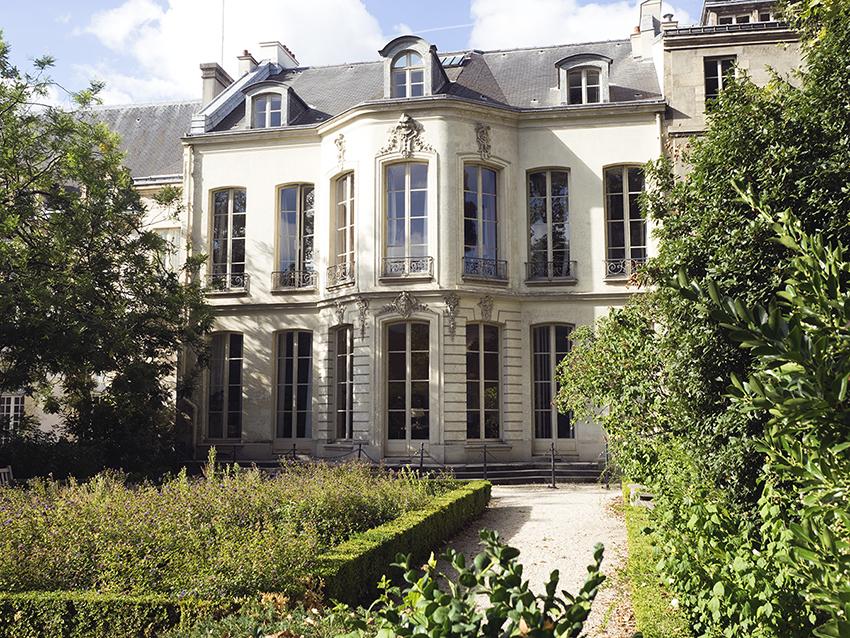 Paris Marais Academy gardens