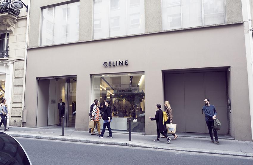 Celine store Saint Germain Paris Inspiring Wit