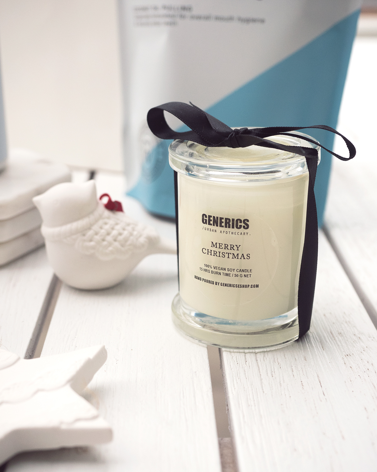 Perth picks for local gifts this Christmas from Inspiring Wit lifestyle blogger, Generics vegan soy candle