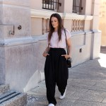 wide leg pants how to wear on Inspiring Wit blog
