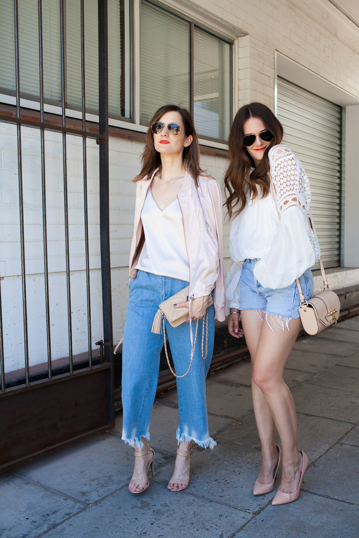 Perth fashion bloggers Inspiring Wit and She Does in MVN label street style