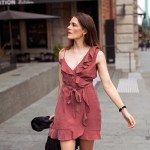 Ruffle dress Bardot Inspiring Wit