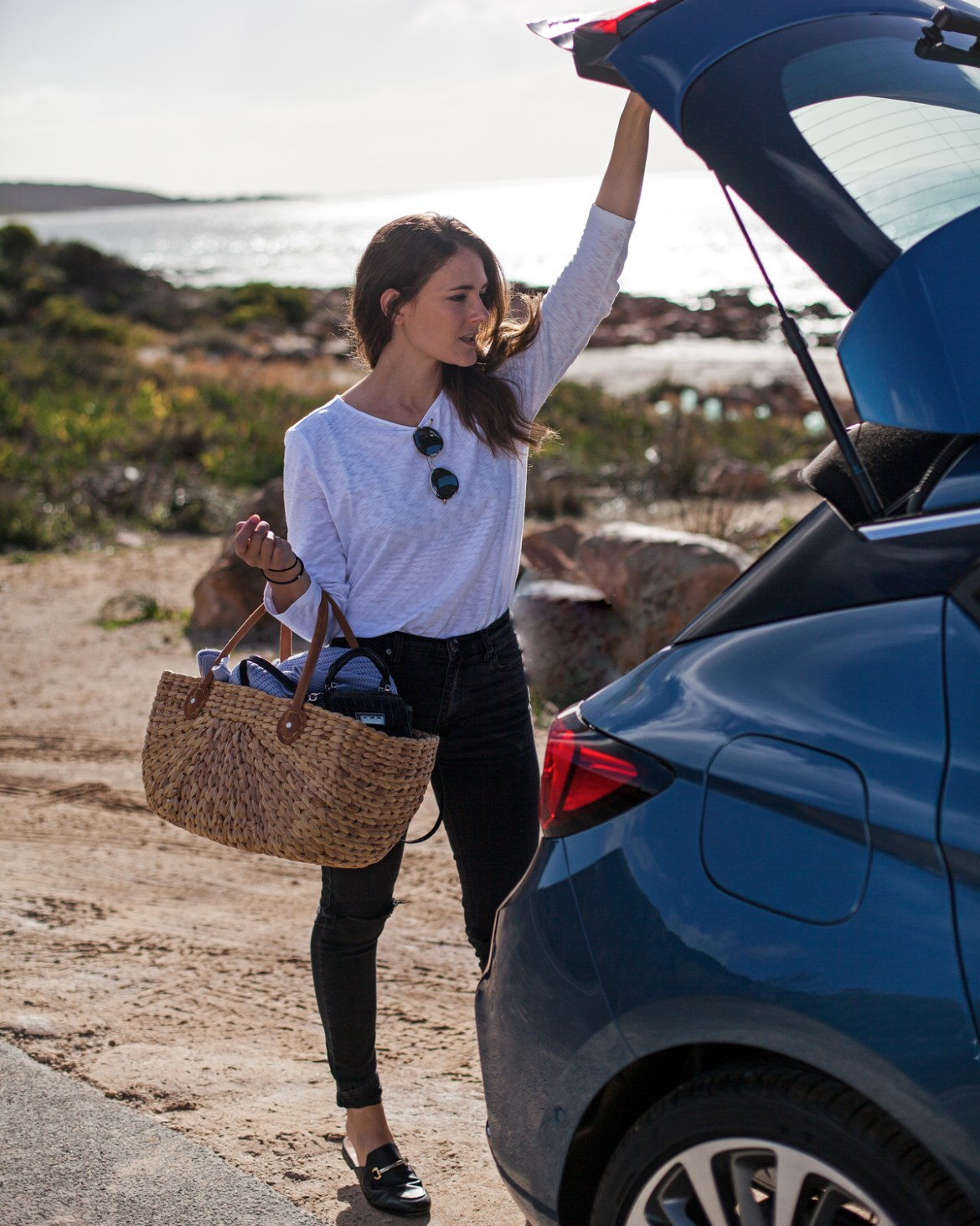 Holden Astra road trip with travel blogger Jenelle from Inspiring Wit