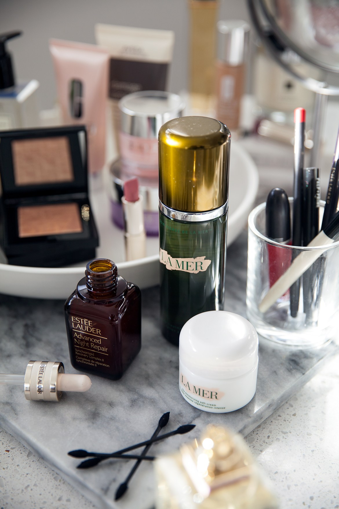 Winter beauty edit by Australian beauty blogger Inspiring Wit featuring La Mer and Estee Lauder