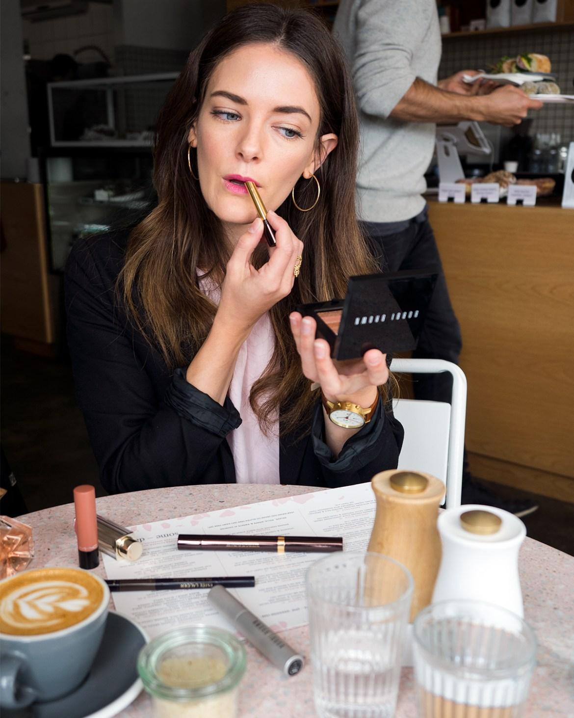 Winter beauty edit by Australian beauty blogger Inspiring Wit featuring Bobbi Brown