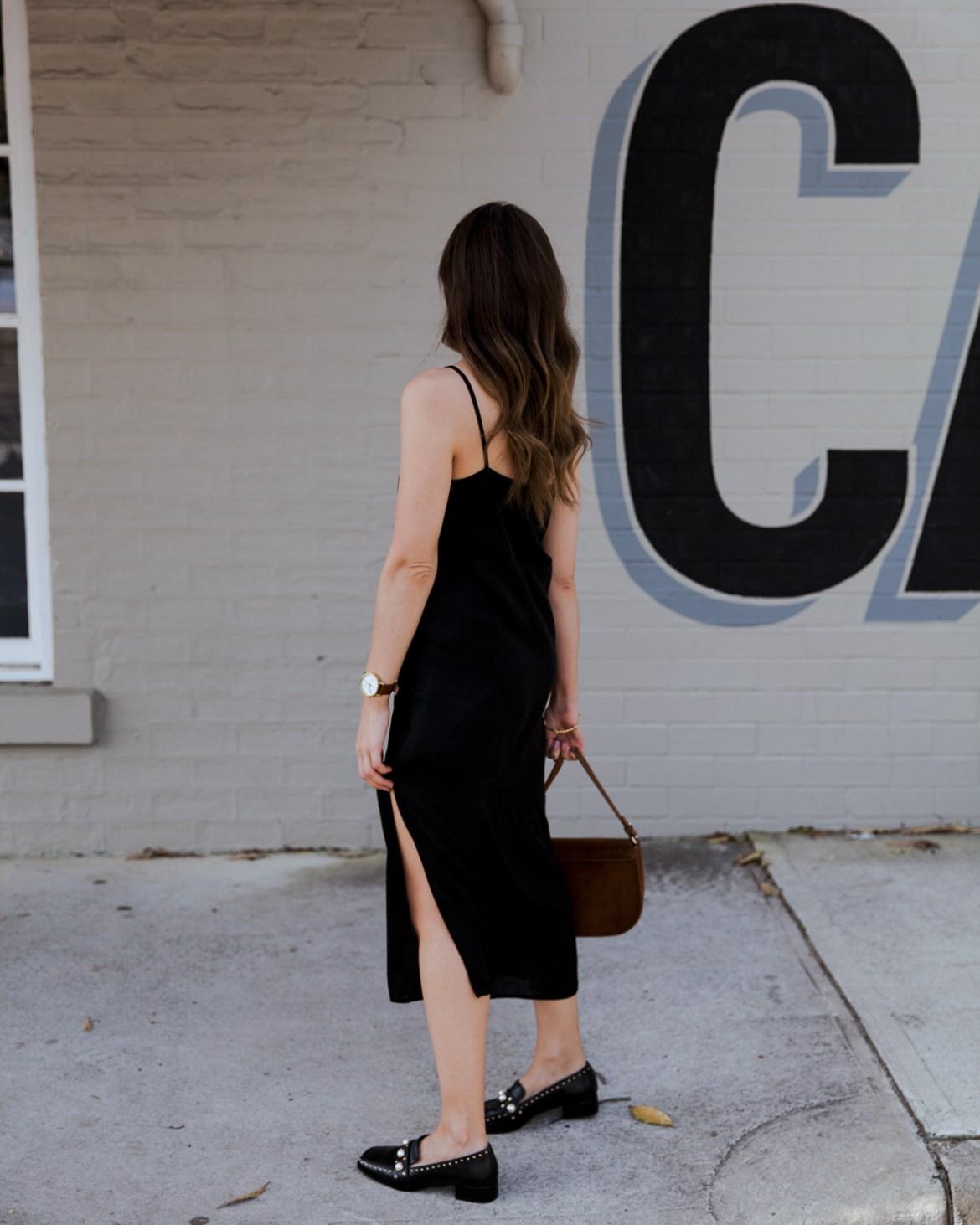 Free and Form black slip dress Inspiring Wit