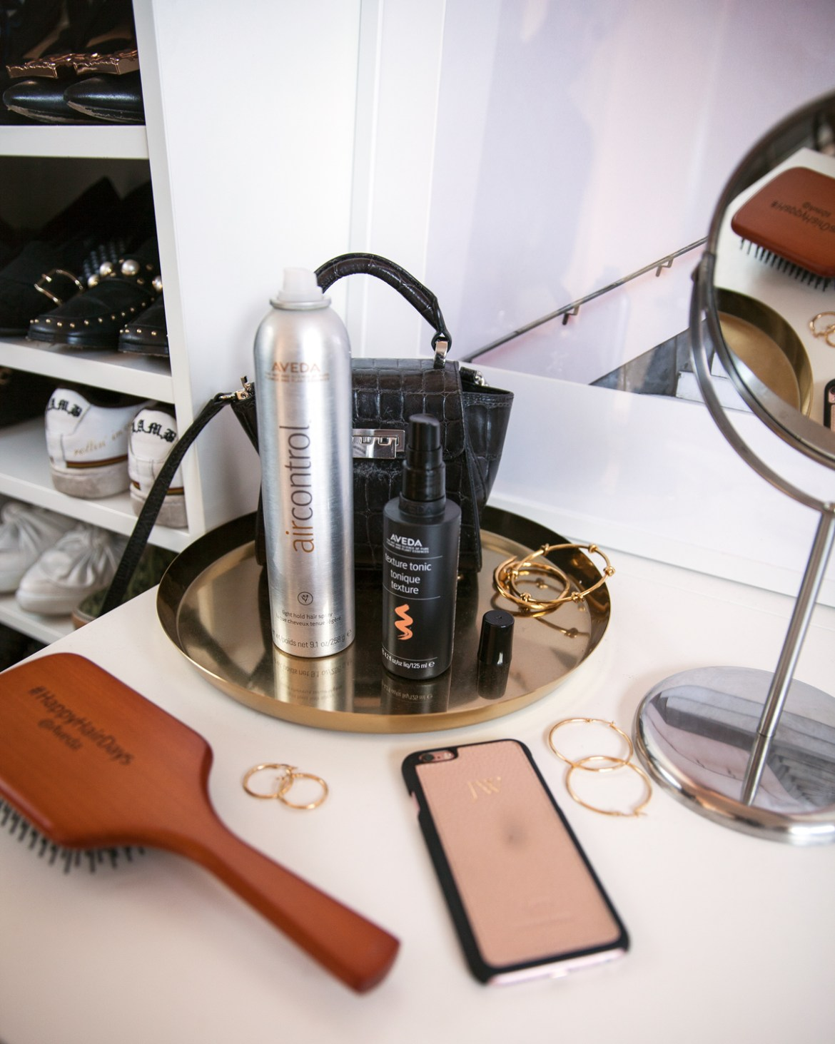 Spring beauty edit for 2017 featuring Aveda hair products