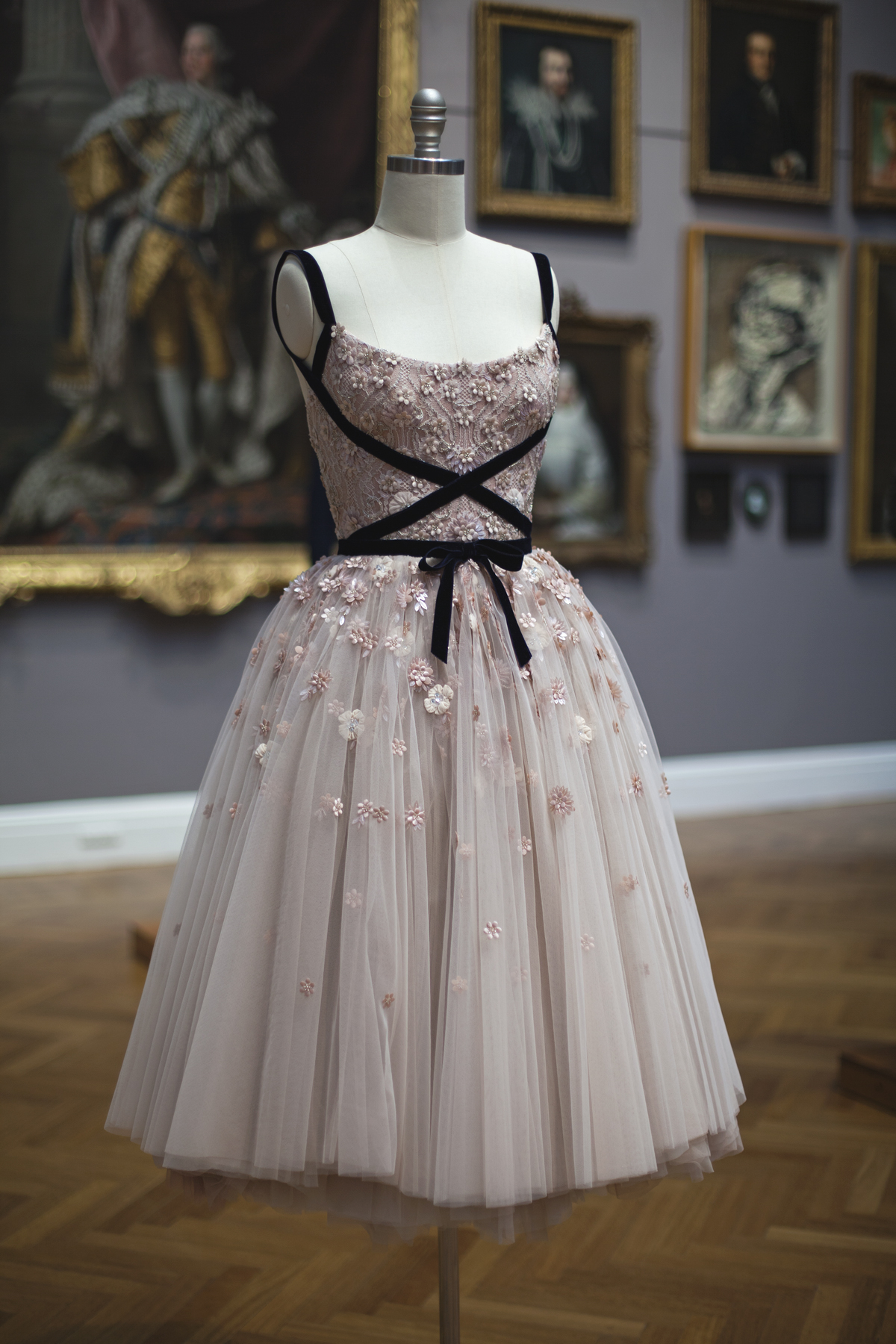 Paolo Sebastian exhibition at the art gallery of south australia dress