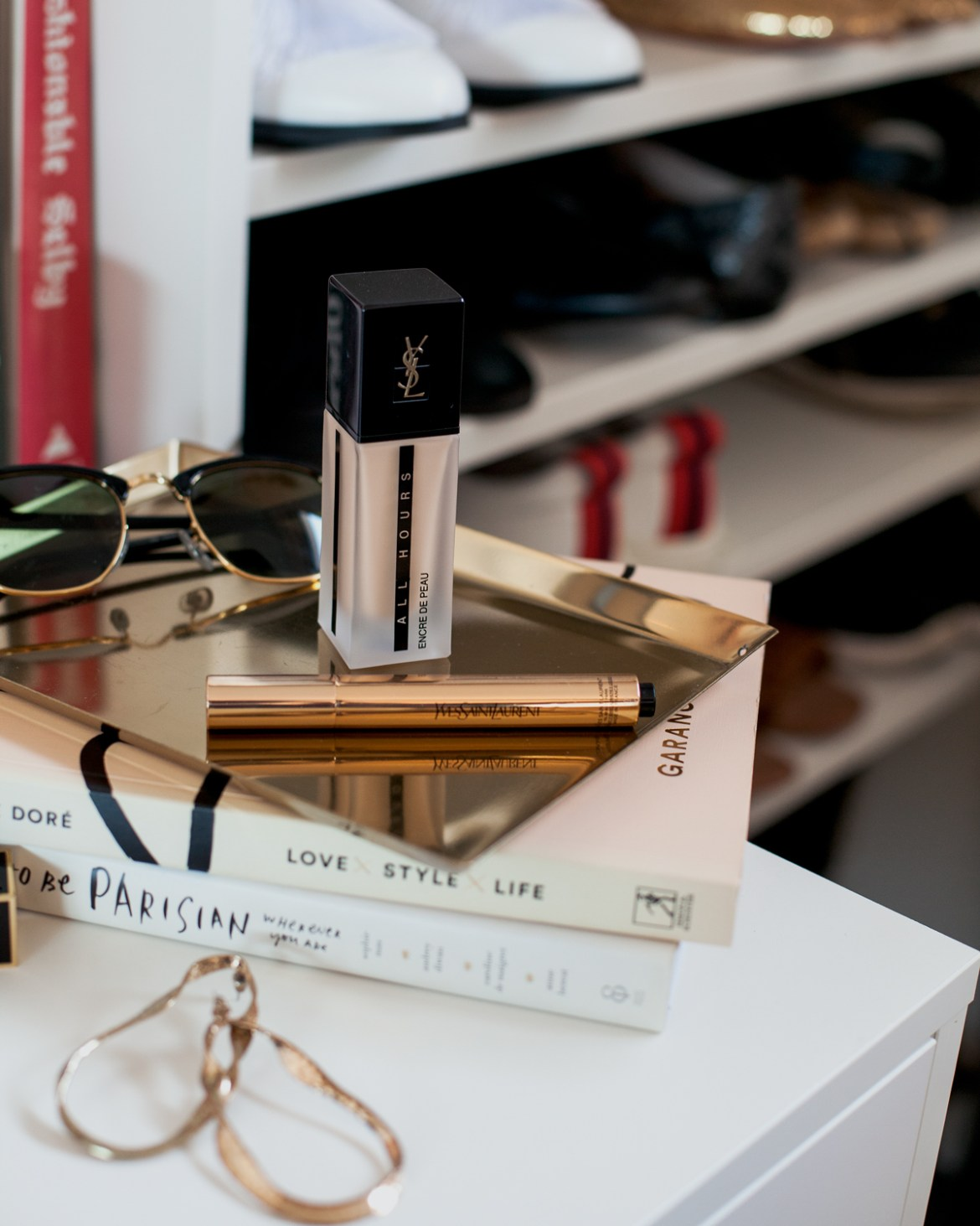 summer beauty edit YSL all hours matte foundation and touche eclat