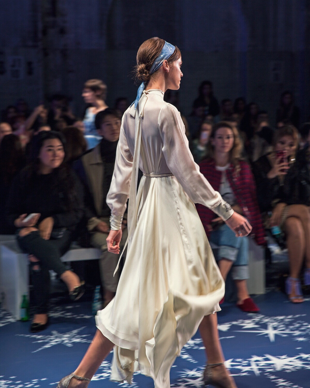 Leo and Lin on the MBFWA 2018 runway shot by Inspiring Wit blogger Jenelle