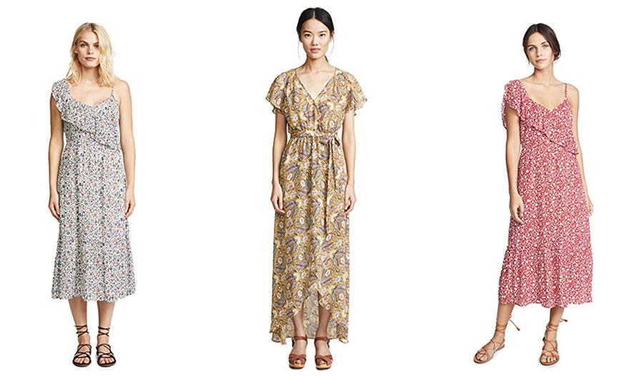 floral printed dresses shopbop sale picks by Inspiring Wit Blogger