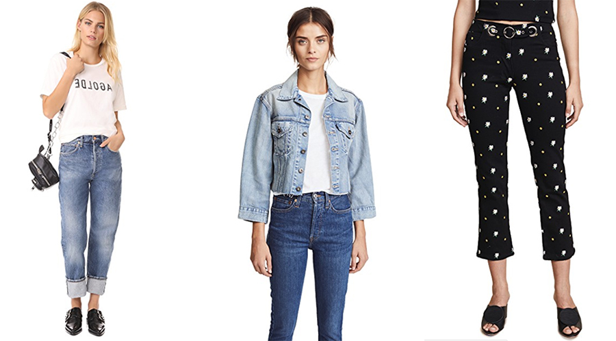 Shopbop sale June denim curated by Inspiring Wit blogger