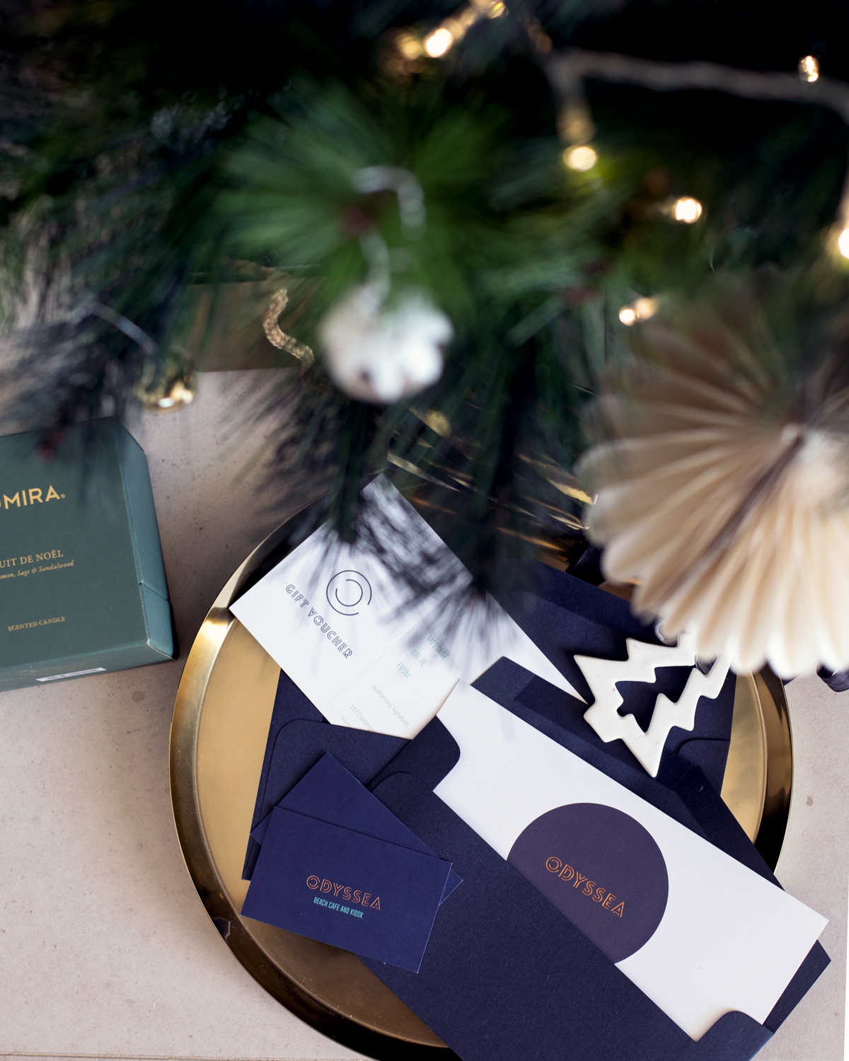 2018 Christmas gift guide Inspiring Wit blog featuring Perth gift ideas Odyssea vouchers