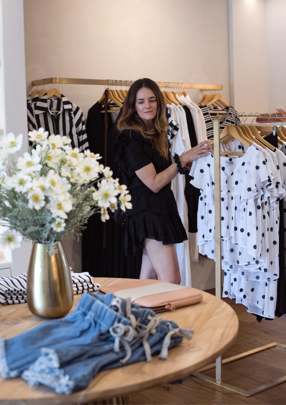 Bohemian Traders HQ visting the boutiques with fashion blogger Inspiring Wit