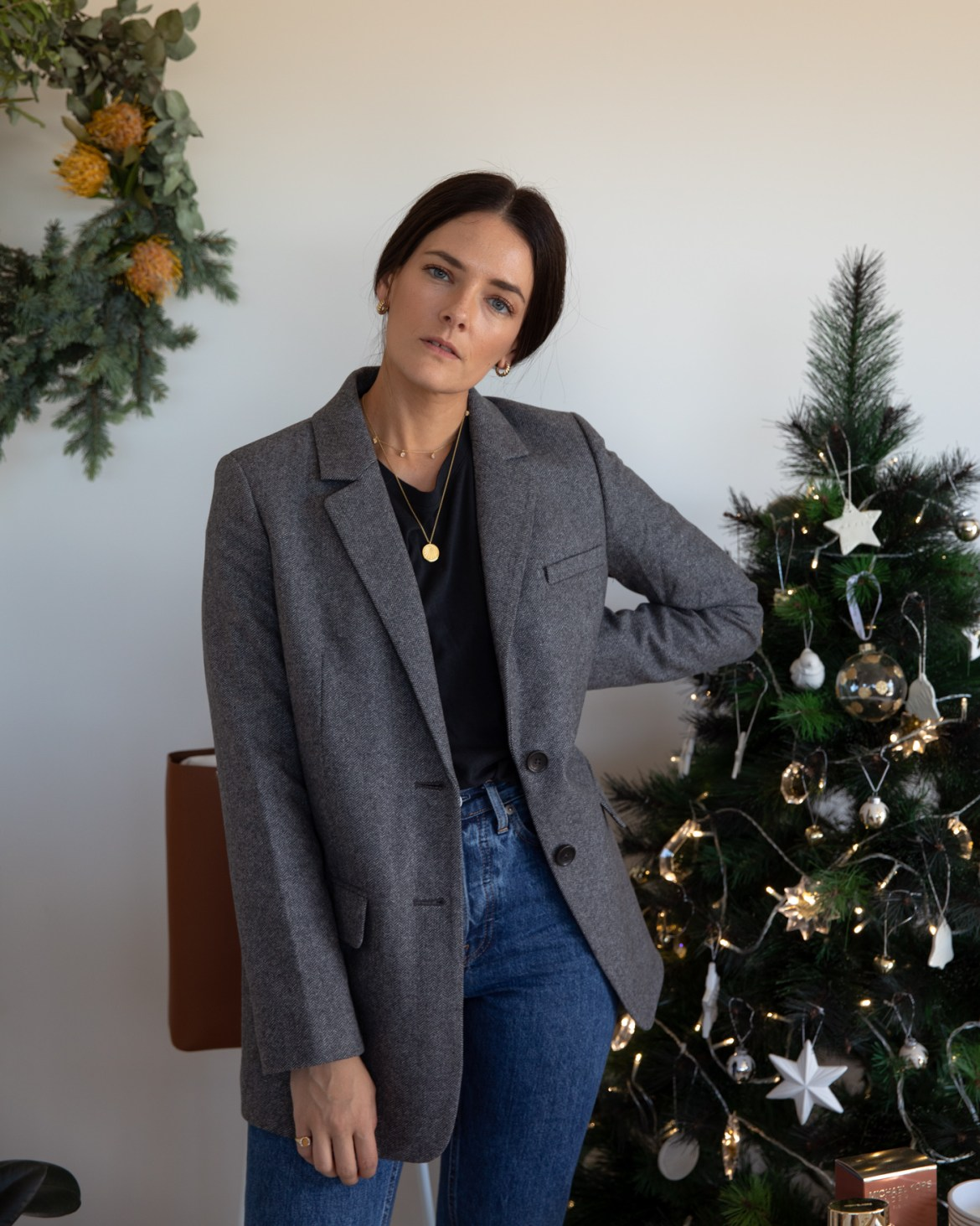 best-sellers from Everlane to gift for Christmas. The oversized blazer