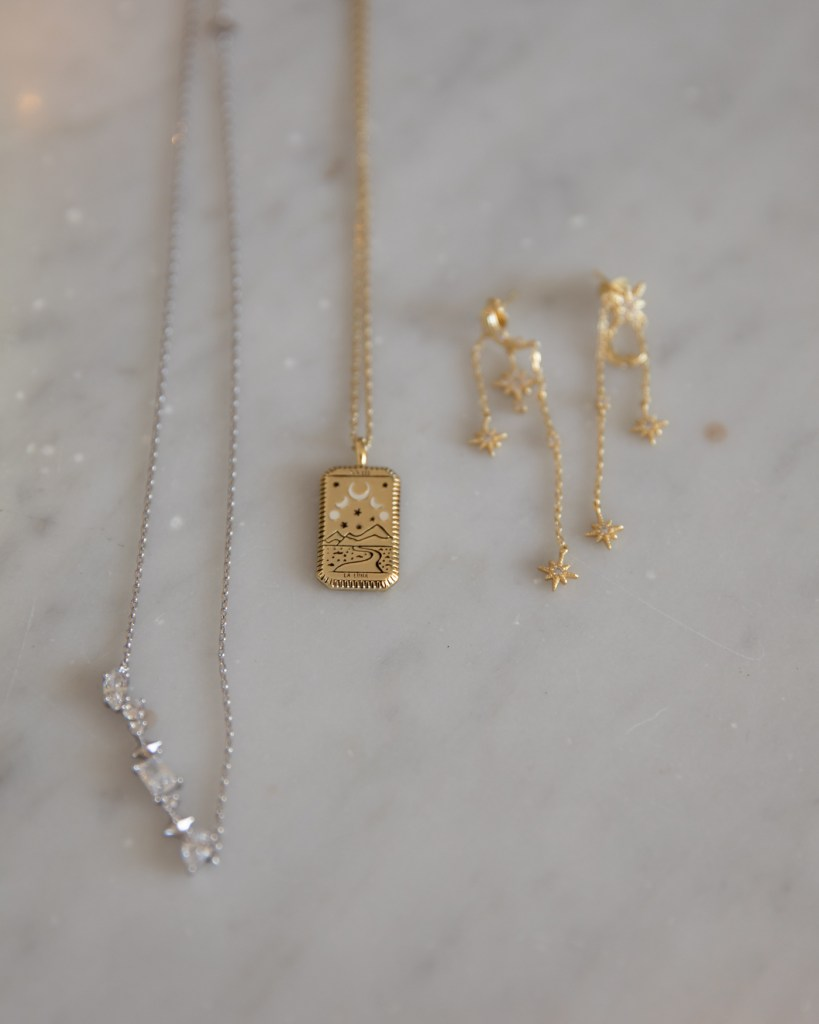 Wanderlust and Co jewellery for Christmas gifts