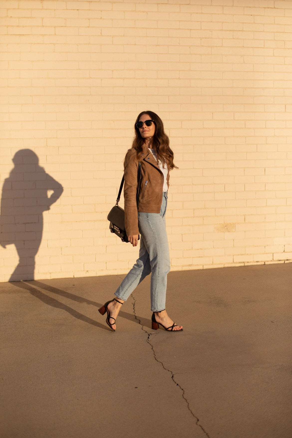 my jeans and a suede jacket outfit you should try