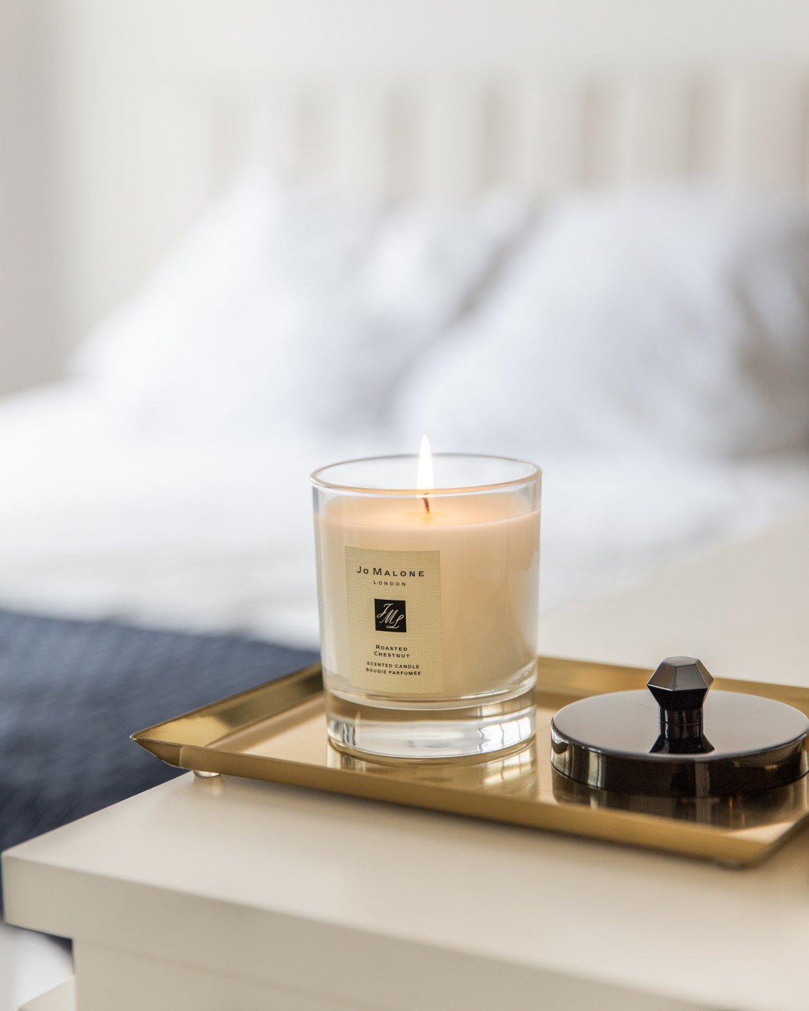 Jo Malone London candle at home