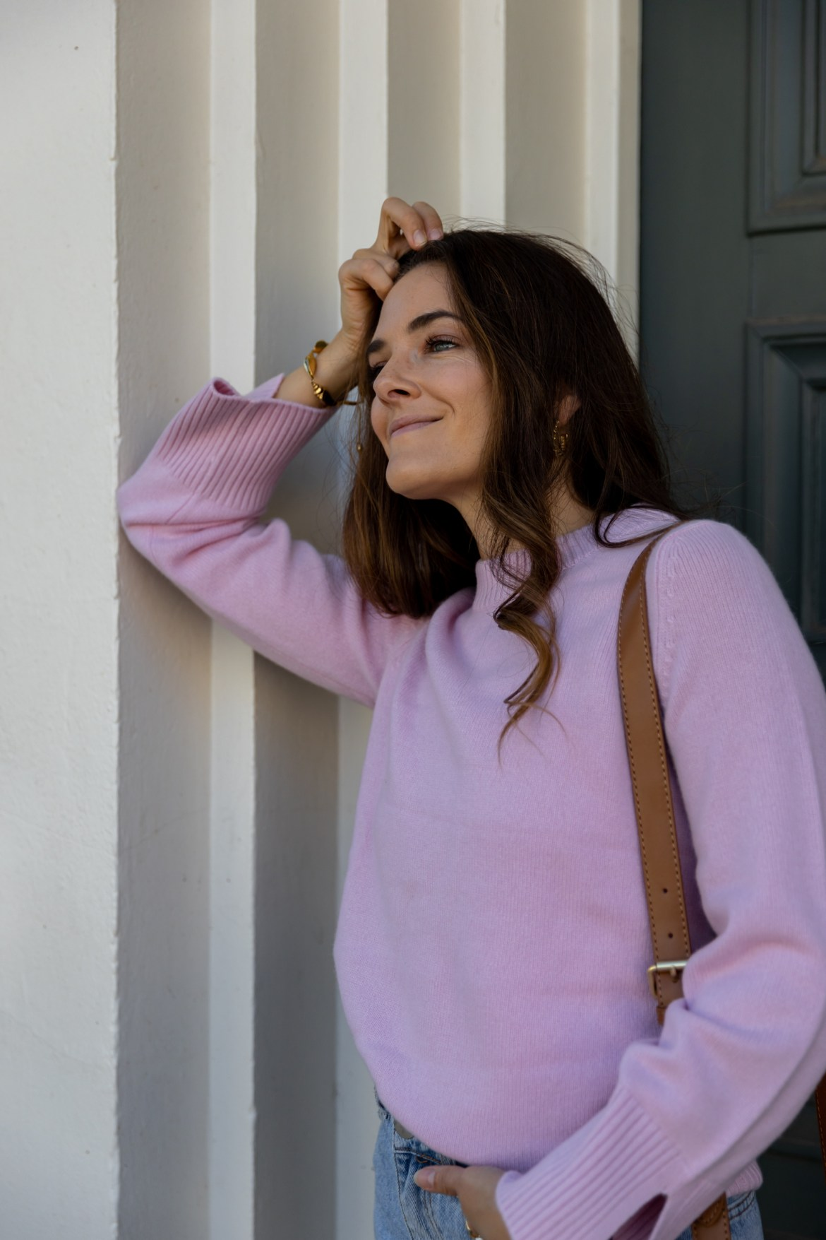 Cashmere knit in pink from Boden