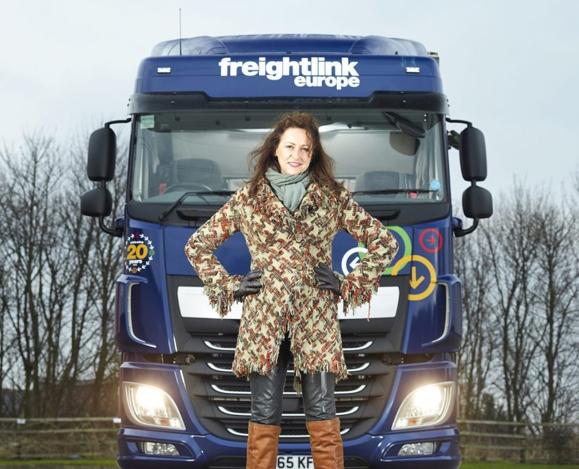 Photo of Lesley O'Brien, Freightlink Europe