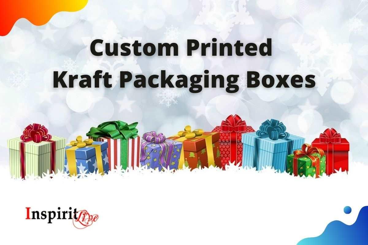 Custom Printed Kraft Packaging Boxes