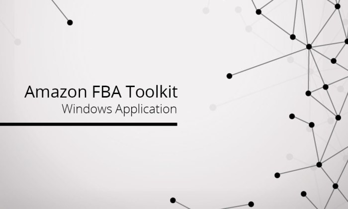 how to use fba toolkit