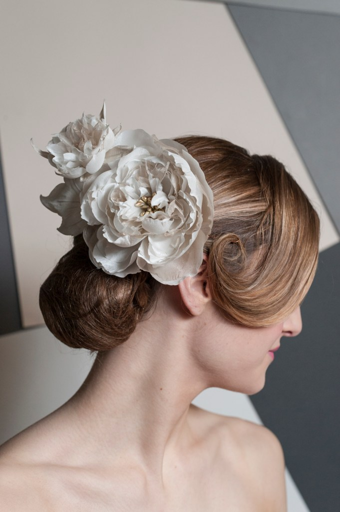 Handmade Floral Bridal Hair Accessory by Giulia Mio Millinery