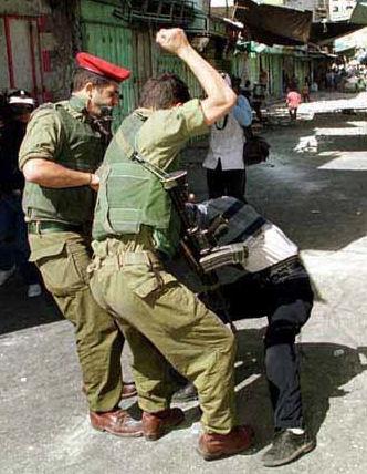 idf beating palestinian dCQjP 19672