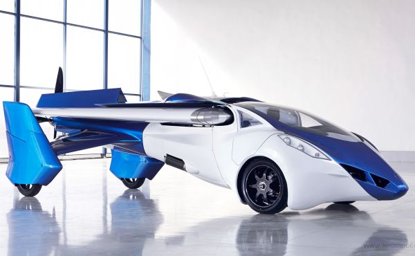 flying cars, like AeroMobil