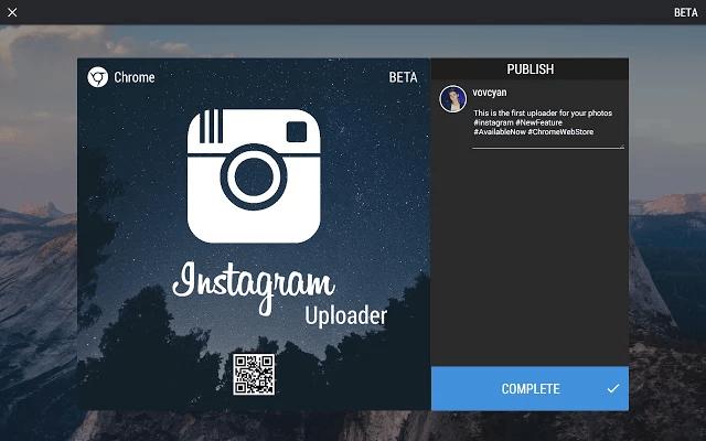 Instagram Uploader