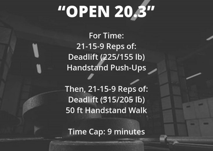 Open Workout 20.3