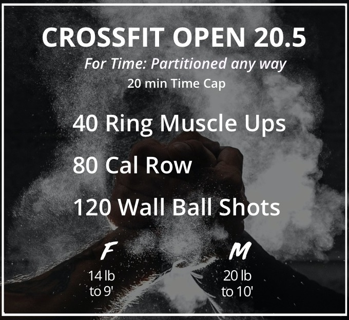 Open Workout 20.5