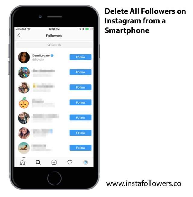 Unfollow Everyone on Instagram Easily - InstaFollowers