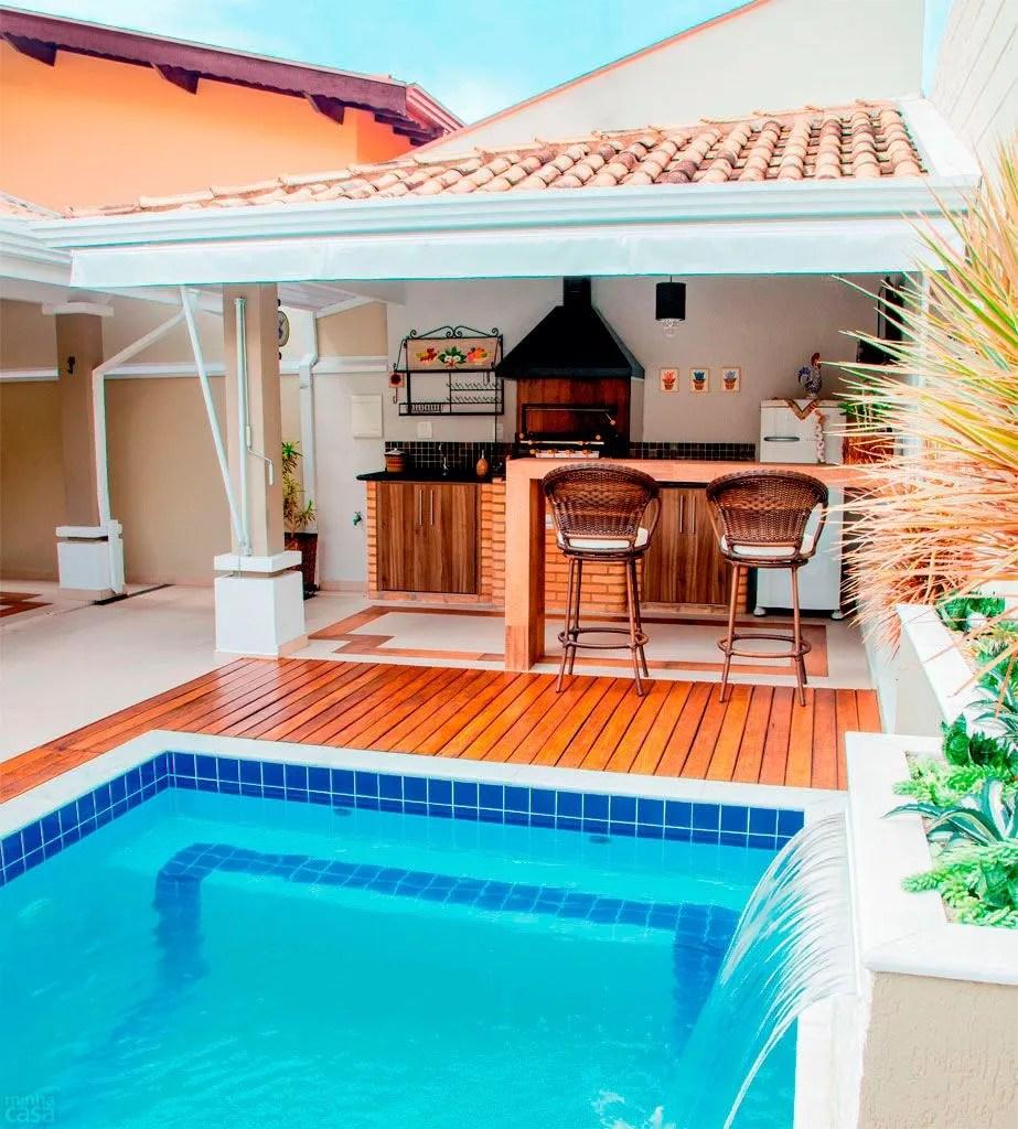 Quincho-piscina