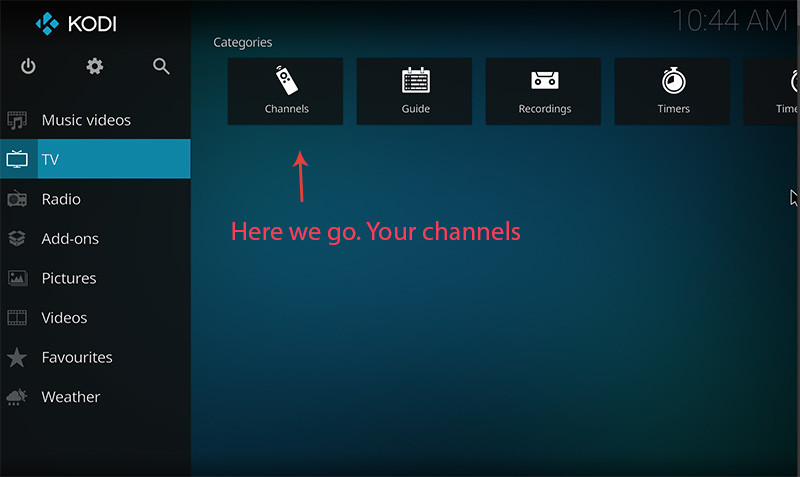 Installeer IPTV op Kodi - stap 11