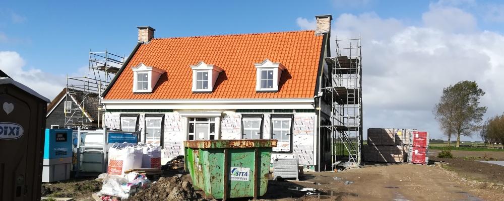 Installatiebedrijf Adams | Nieuwbouw woning te Dirksland