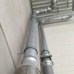 Hemelwater afvoeren bij gebouwen  met gecombineerd gebruik