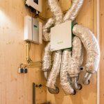 Remontabele houten huizen voorzien van vraaggestuurde ventilatie
