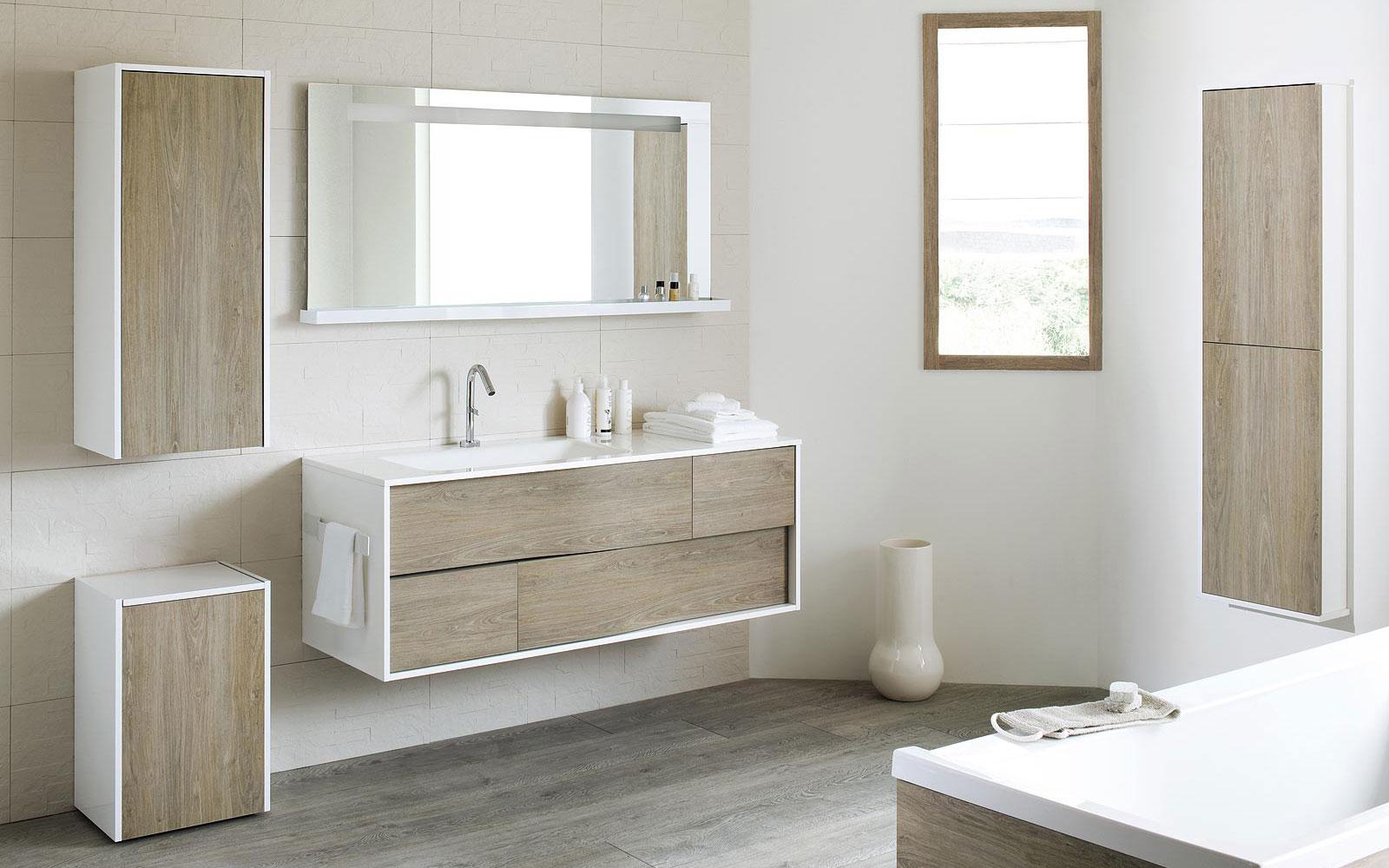 Les nouveaux volumes dans la salle de bain A5 NF C 15100