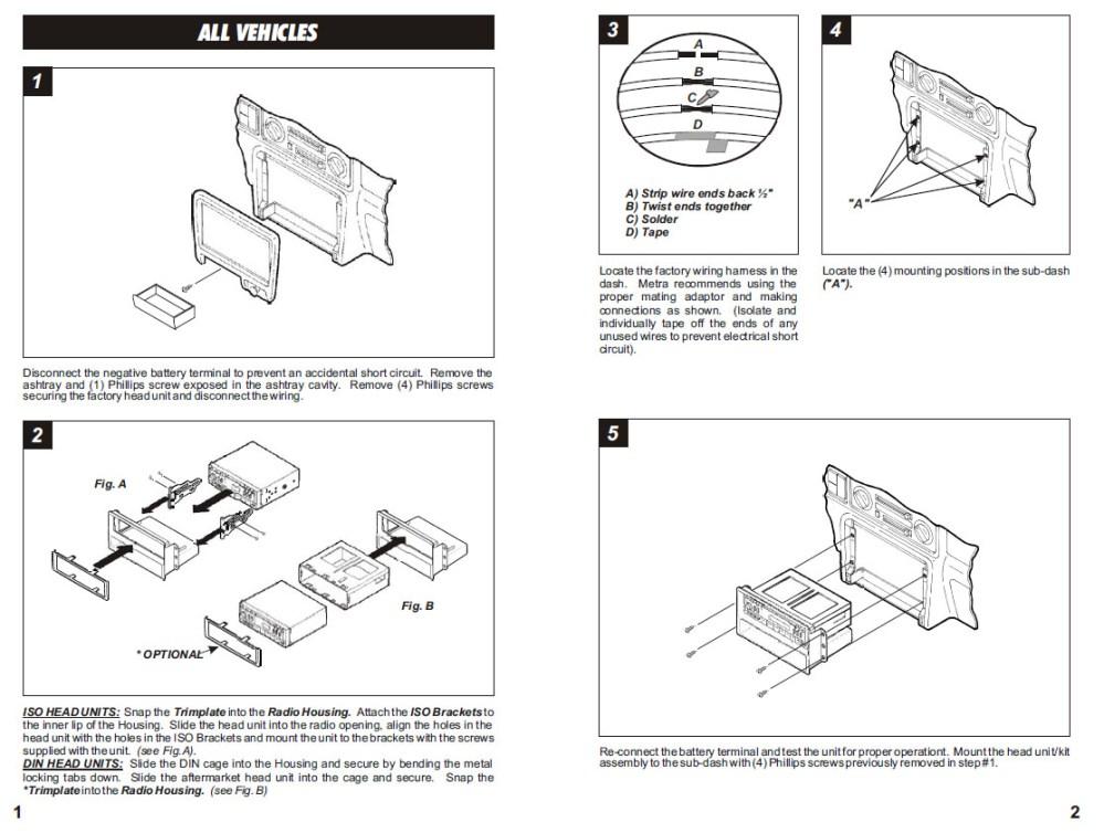 medium resolution of 1999 honda passport installation parts harness wires kits bluetooth iphone