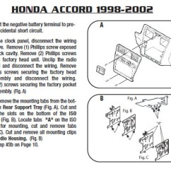 Diagram For 2000 Honda Accord Door 71 Chevelle Dash Wiring Under The Dashboard Manual E Books Installation Parts Harness Wires Kits