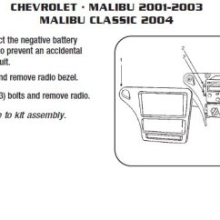 2001 Chevy Malibu Car Stereo Wiring Diagram The Parts Of Cherry Blossom Tree 2003 Harness Schematics Chevrolet Installation Wires Kits Rh Installer Com Radio Color