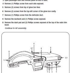 2001 Chevy Impala Radio Wiring Diagram Direct Tv 2004 Cavalier Harness All Data Chevrolet Installation Parts Wires Kits Wirining