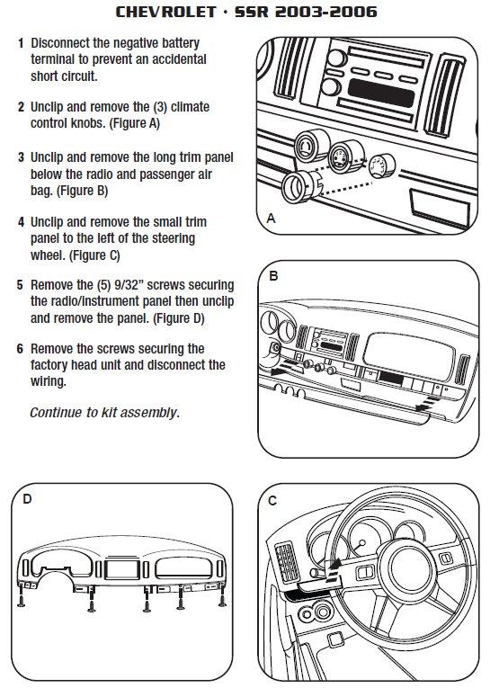 Jvc Kw Av61bt Wiring Diagram 2004 Chevrolet Ssr Installation Parts Harness Wires