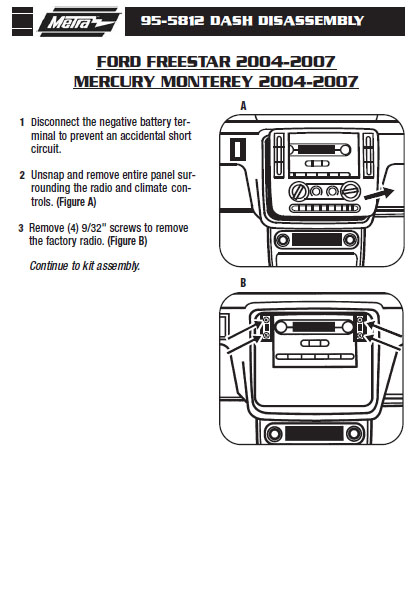 2004 ford freestar wiring diagram for automotive voltmeter installation parts harness wires kits bluetooth iphone tools wire diagrams stereo